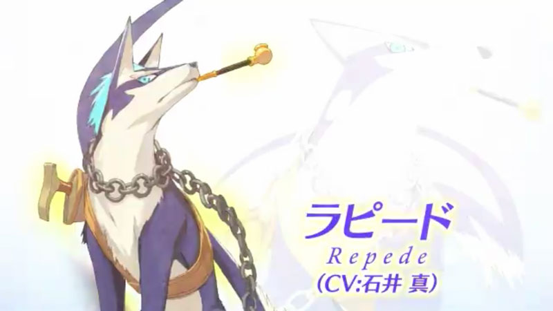 ヴェスペリアのキャラクターPVラピード篇