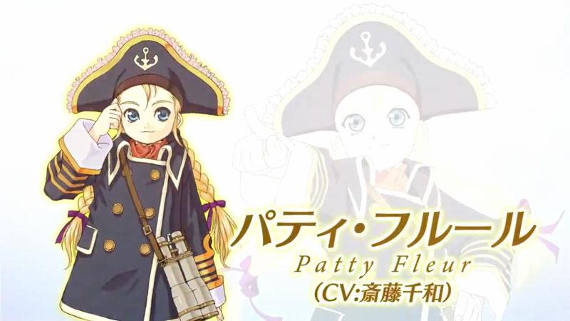 TOVリマスターのパティ篇キャラクターPV