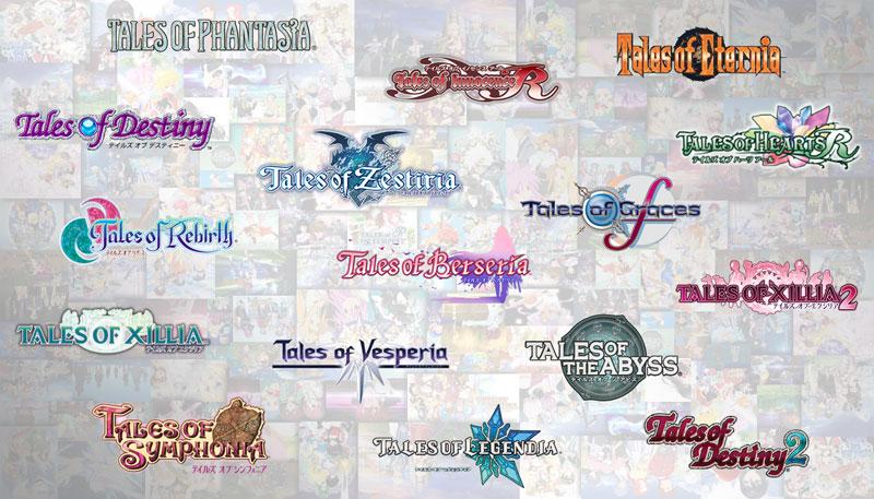 「テイルズ オブ」シリーズのロゴ